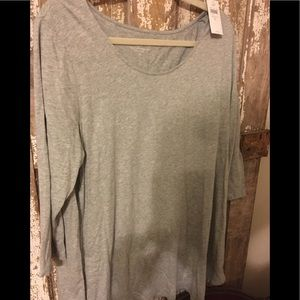 Pure Jill asymmetrical tunic